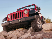 Highlight for Album: 2007 Jeep Wrangler Press Photos