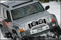 Highlight for Album: AEV Iceland Expedition Jeep Commander